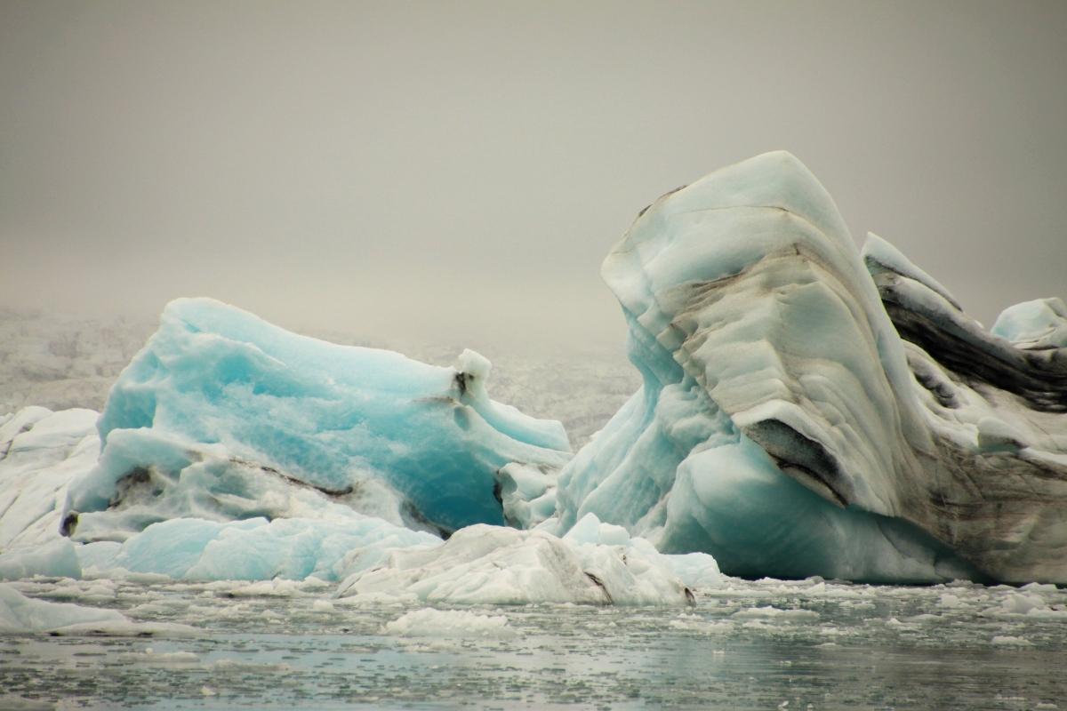 Jökulsárlón – zatoka lodowcowa na Islandii