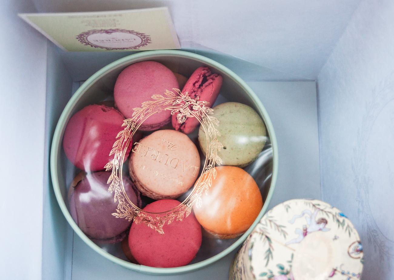 macaron laduree Paryż