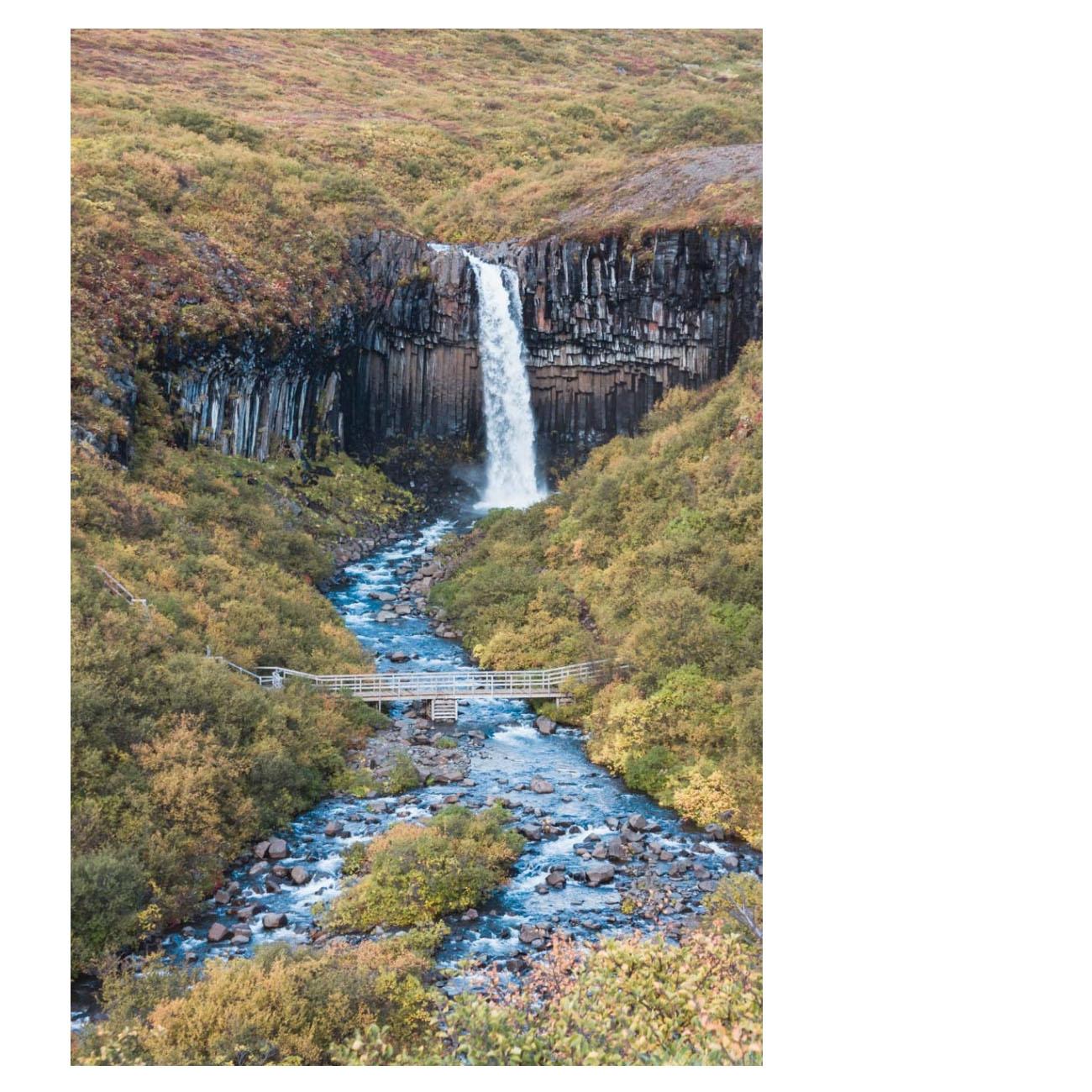 Svertifoss Islandia