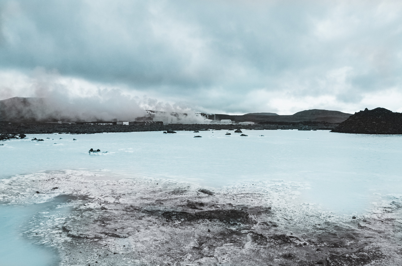 atrakcje Islandii Błękitna Laguna