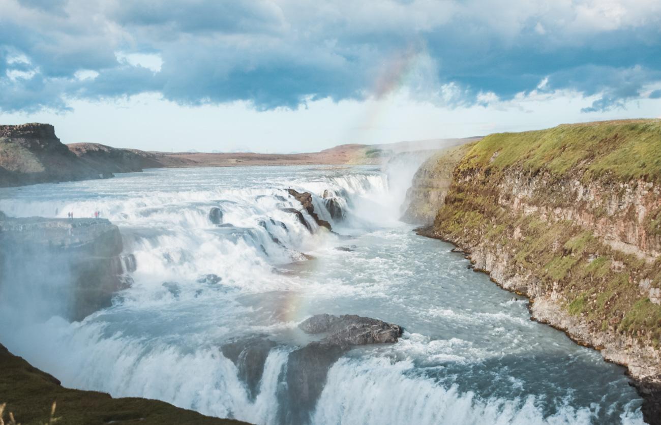 atrakcje Islandii Gulfoss