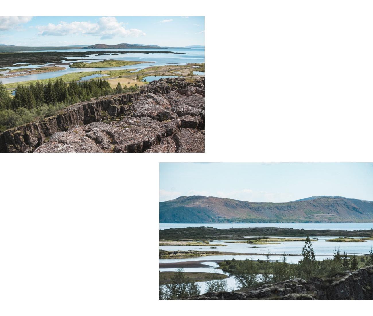 atrakcje Islandii Thingvelir