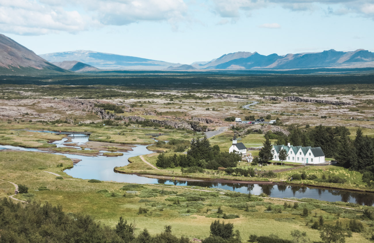 atrakcje Islandii Thingvellir