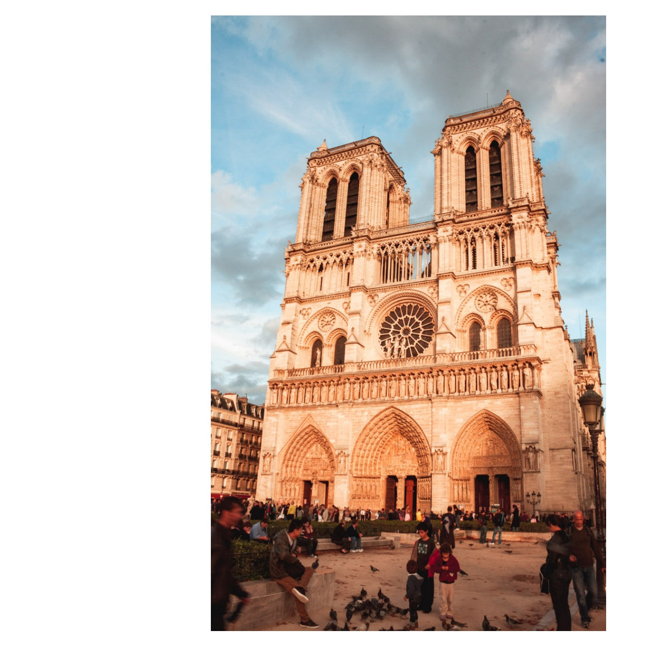 Notre Dame Paryż