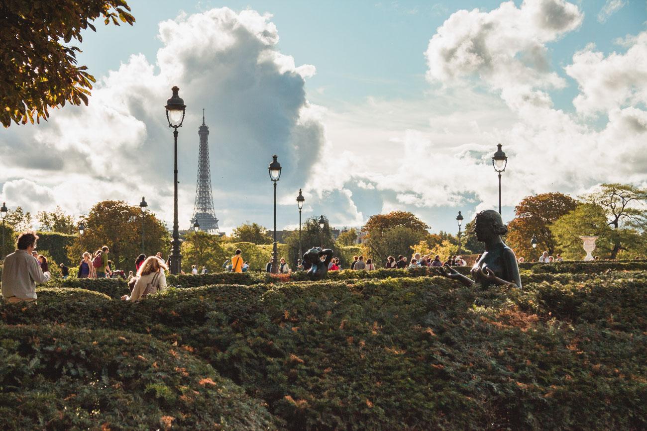 Tuileries Paryż