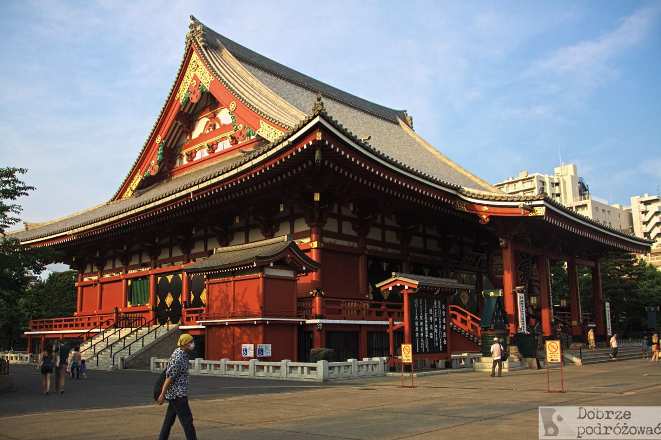 Tokio, świątynia Sensoji