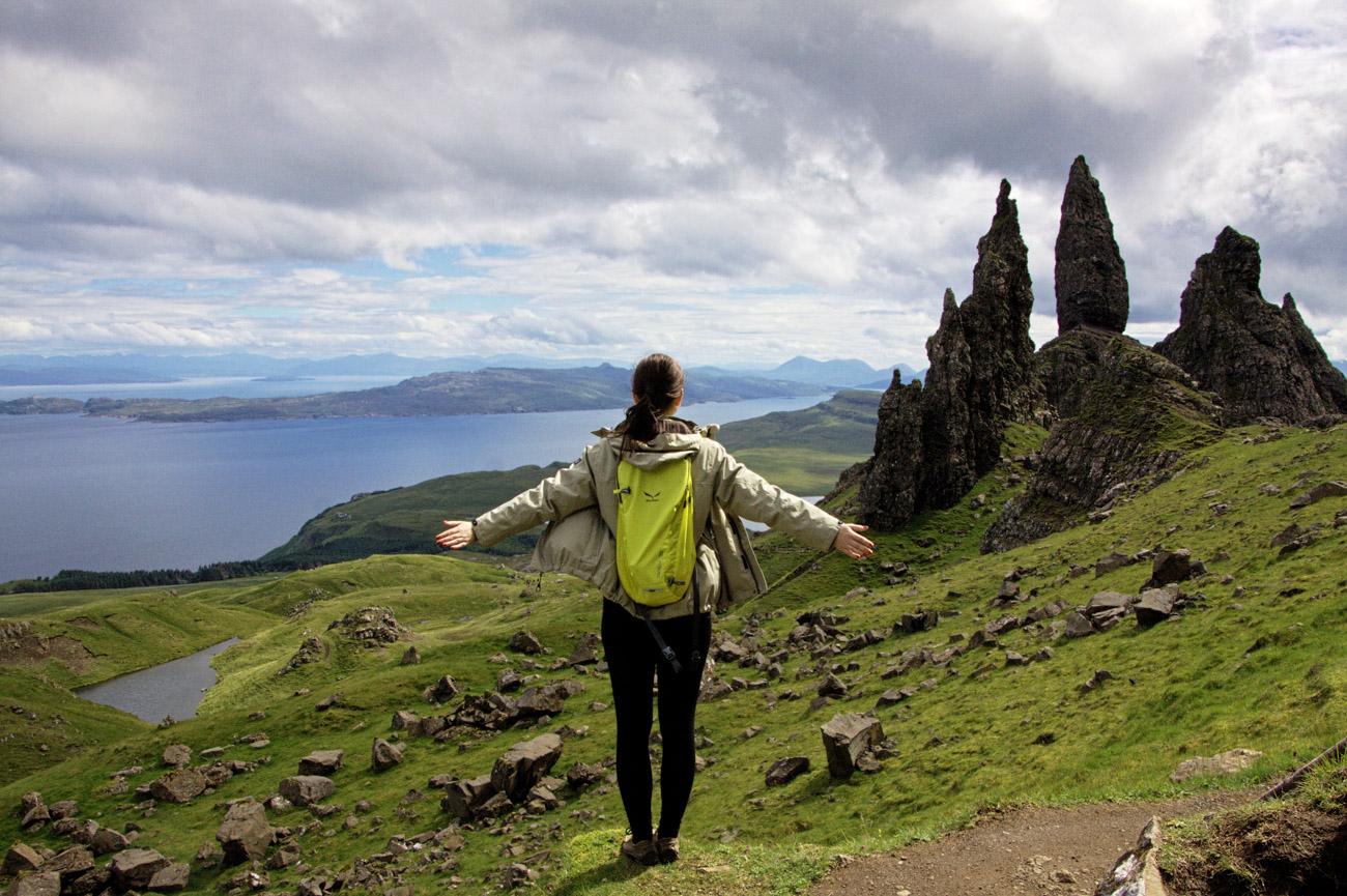 Old Man of Storr, Isle of Skye, Szkocja