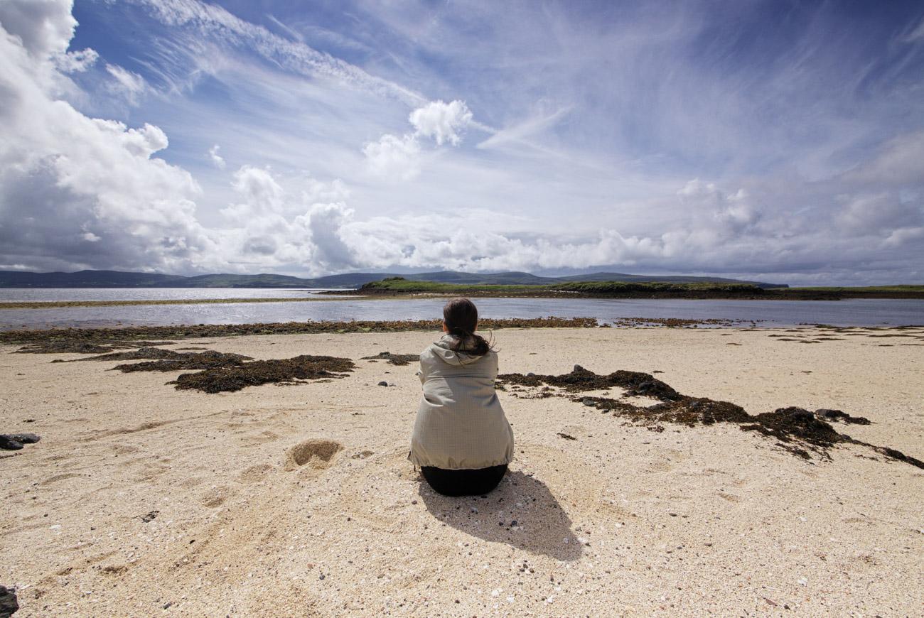Plaża w Claigan, Isle of Skye