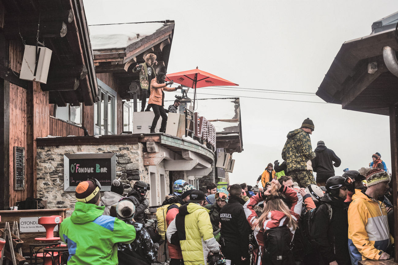 Meribel, La Folie Douce, impreza