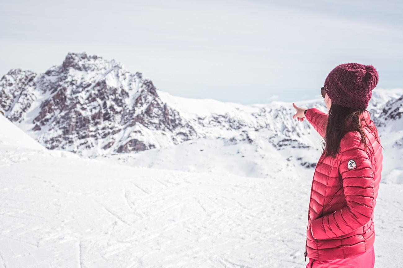 Meribel, narty w Alpach