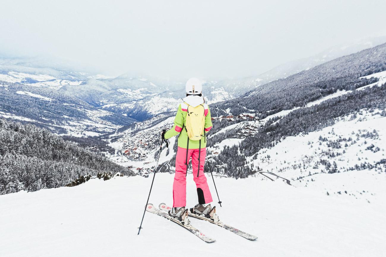 Meribel, narty w Alpach francuskich