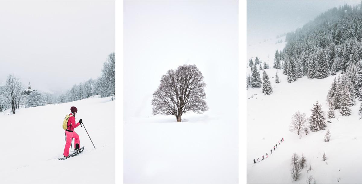les menuires rakiety śnieżne