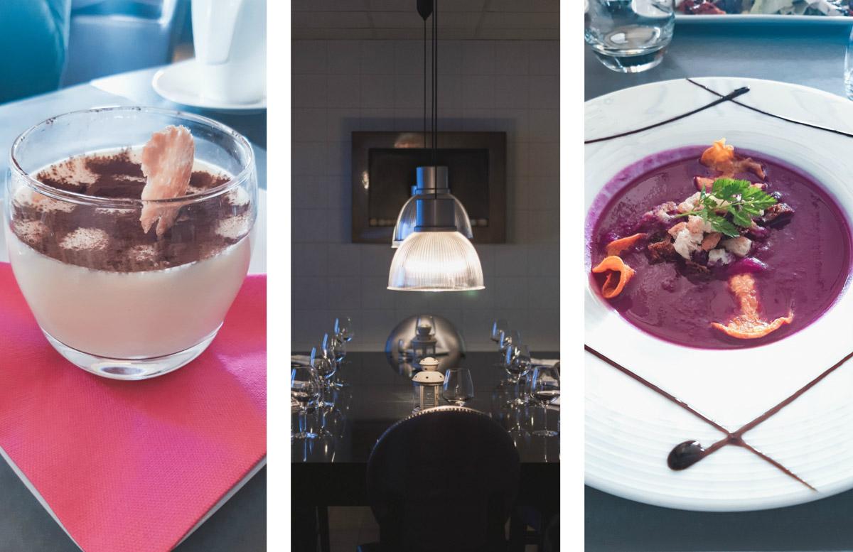 Jedzenie w podróży. Restauracja L'Atelier, Les Menuires