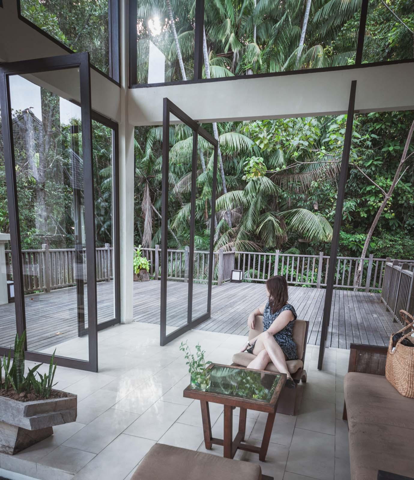 Hotel Gaya Island Resort, strefa SPA. Kota Kinabalu, Malezja