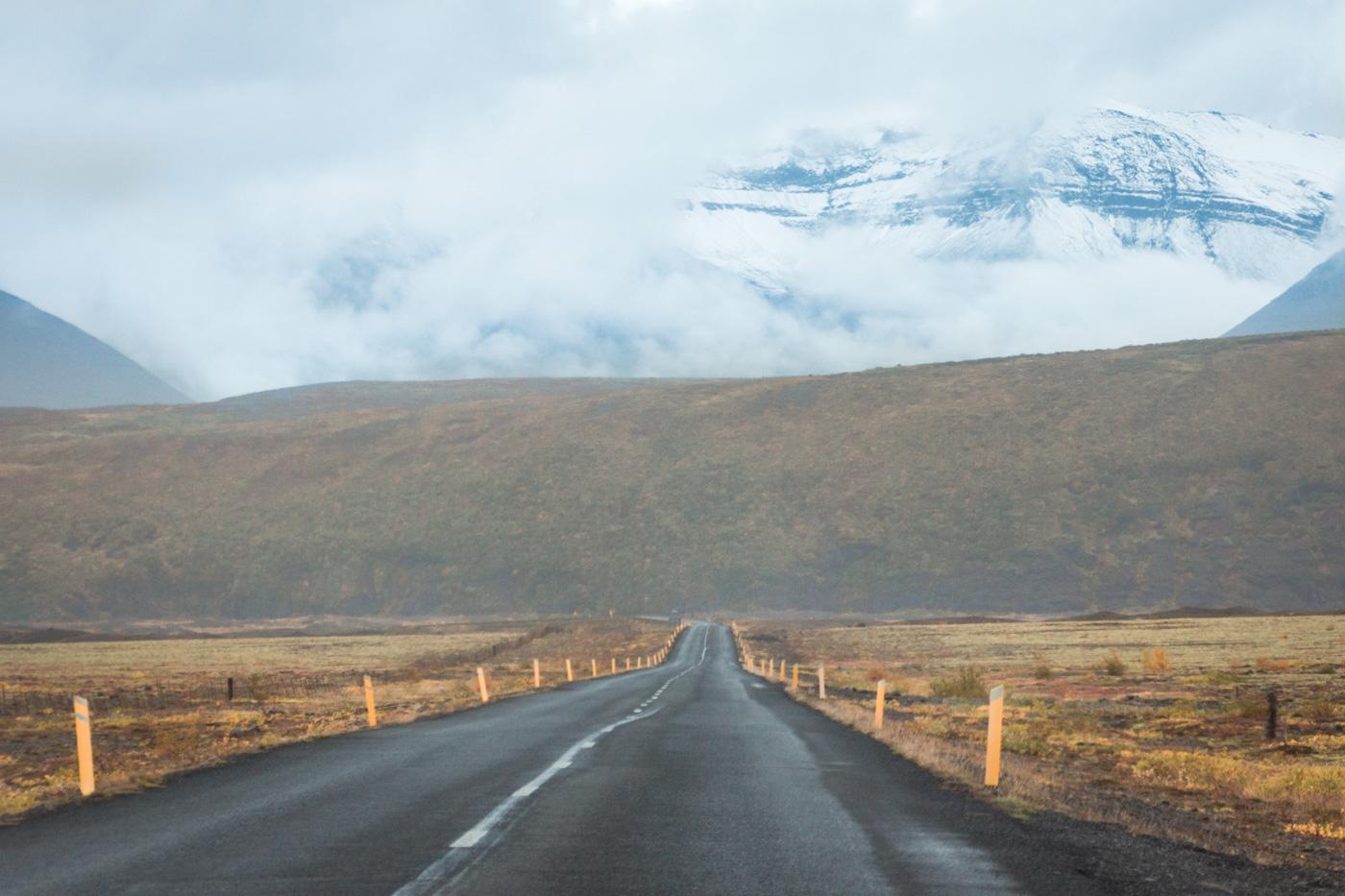 Islandia, droga