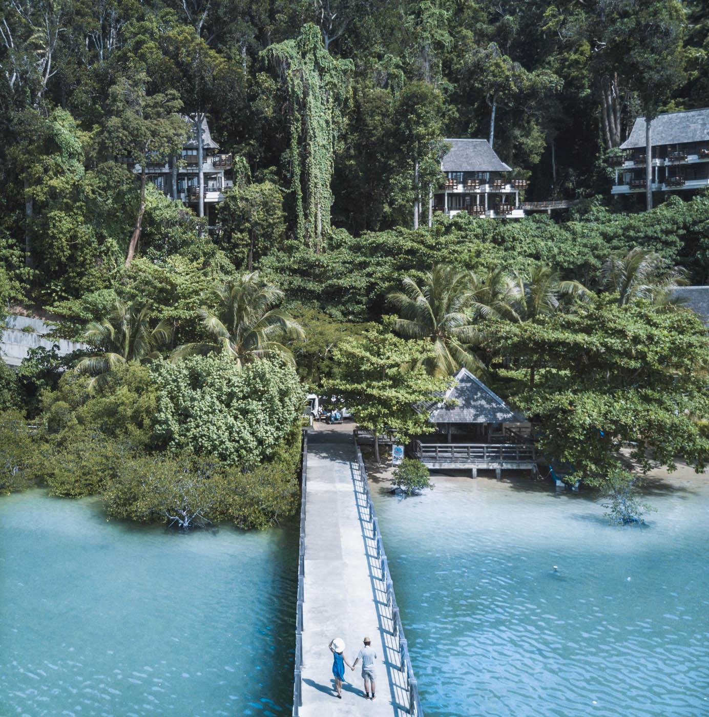 Malezja Borneo, hotel Gaya Island Resort