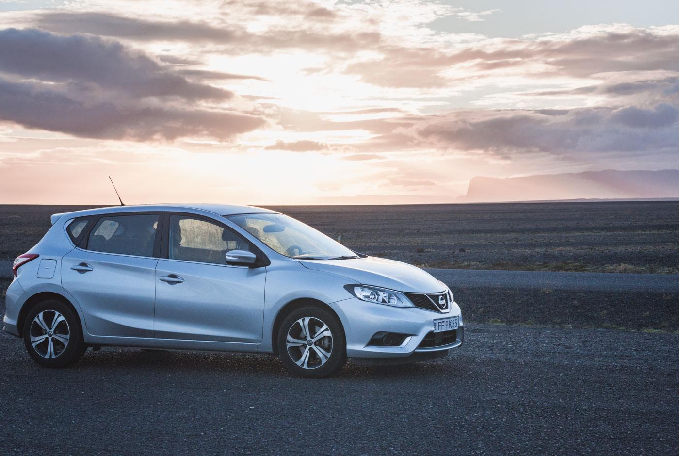 Wypożyczanie samochodu na Islandii