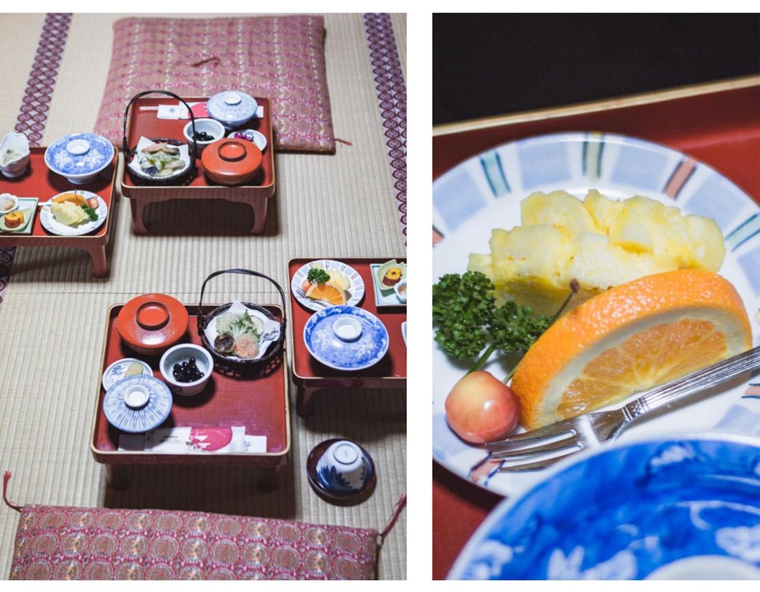 Koya-san, jedzenie u mnichów buddyjskich