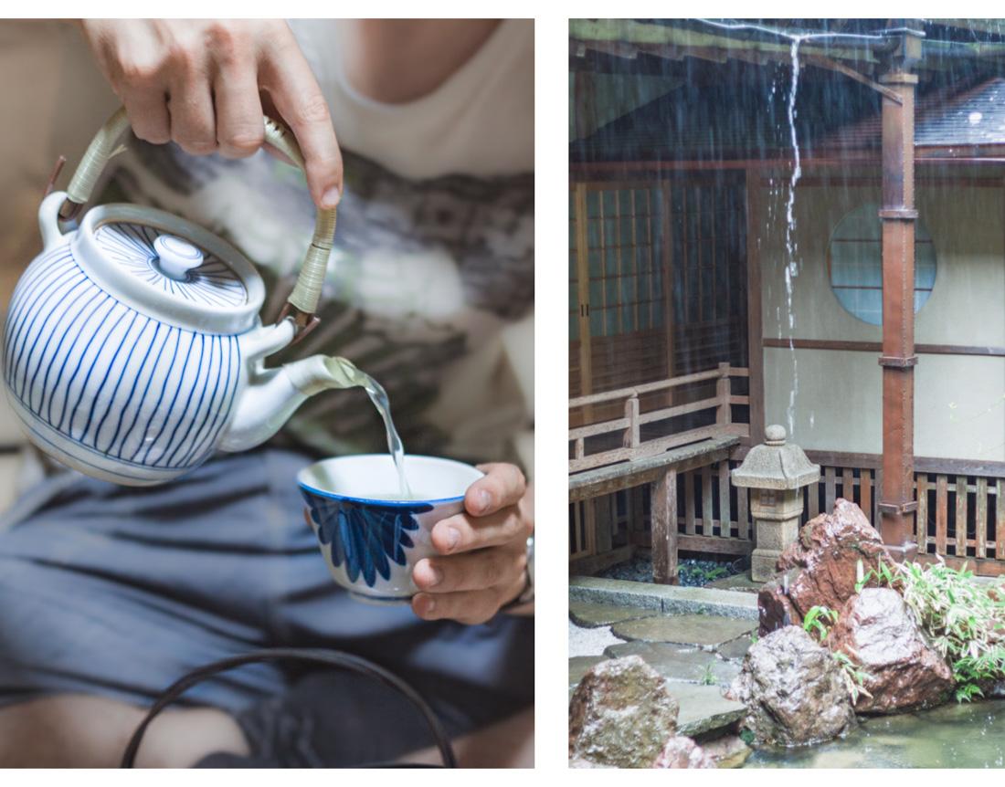 Koya-san, herbata i ogród