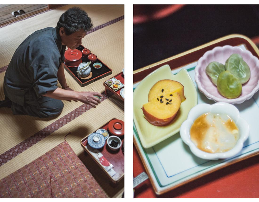Koya-san, tradycyjne jedzenie w Japonii