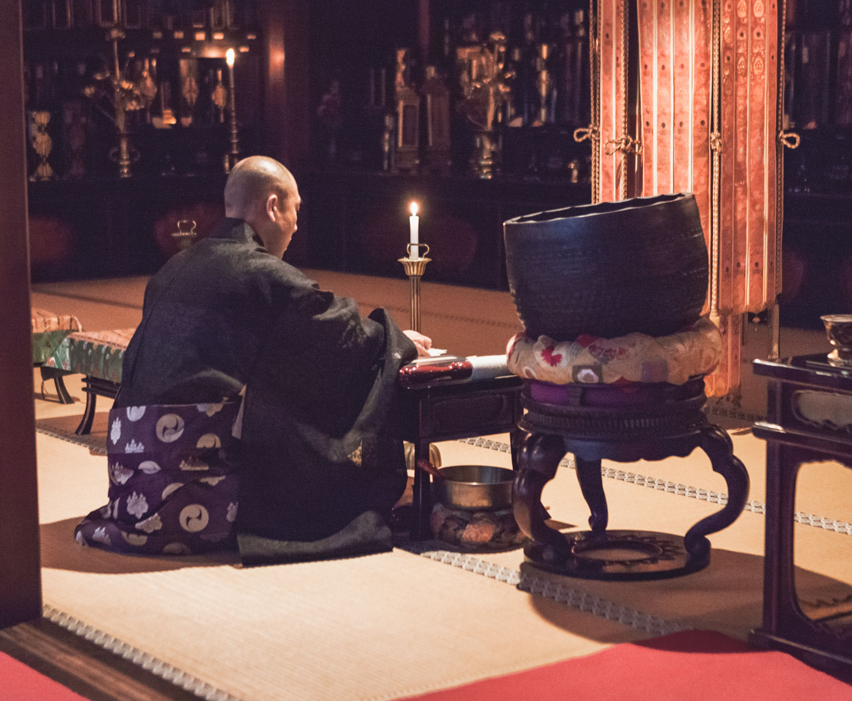 Koya-san, mnich buddyjski