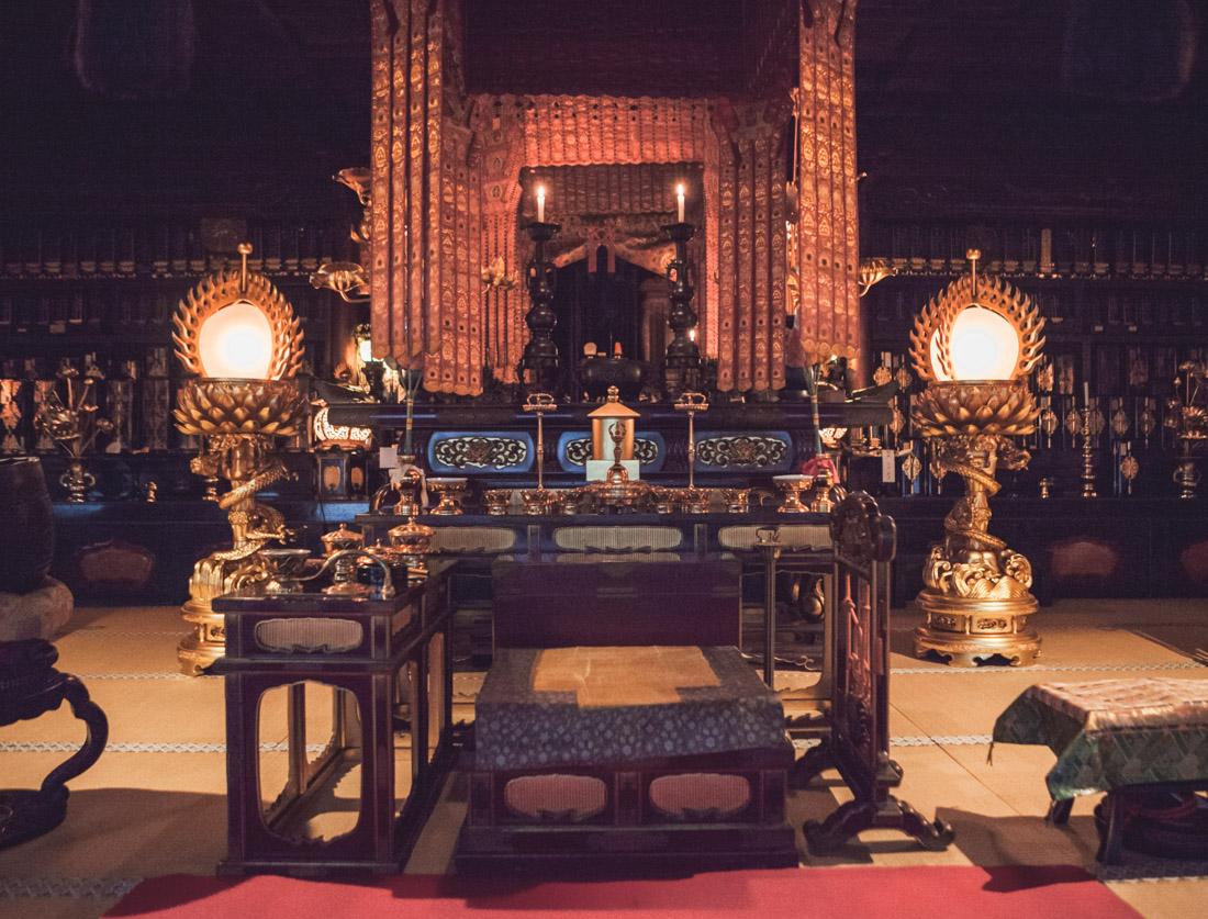 Koya-san, świątynia buddyjska