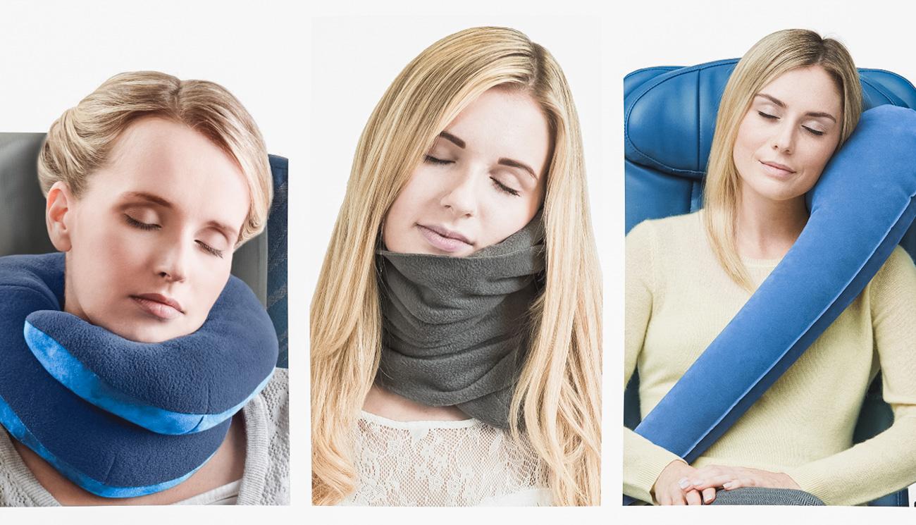 Poduszki i zagłówki do samolotu