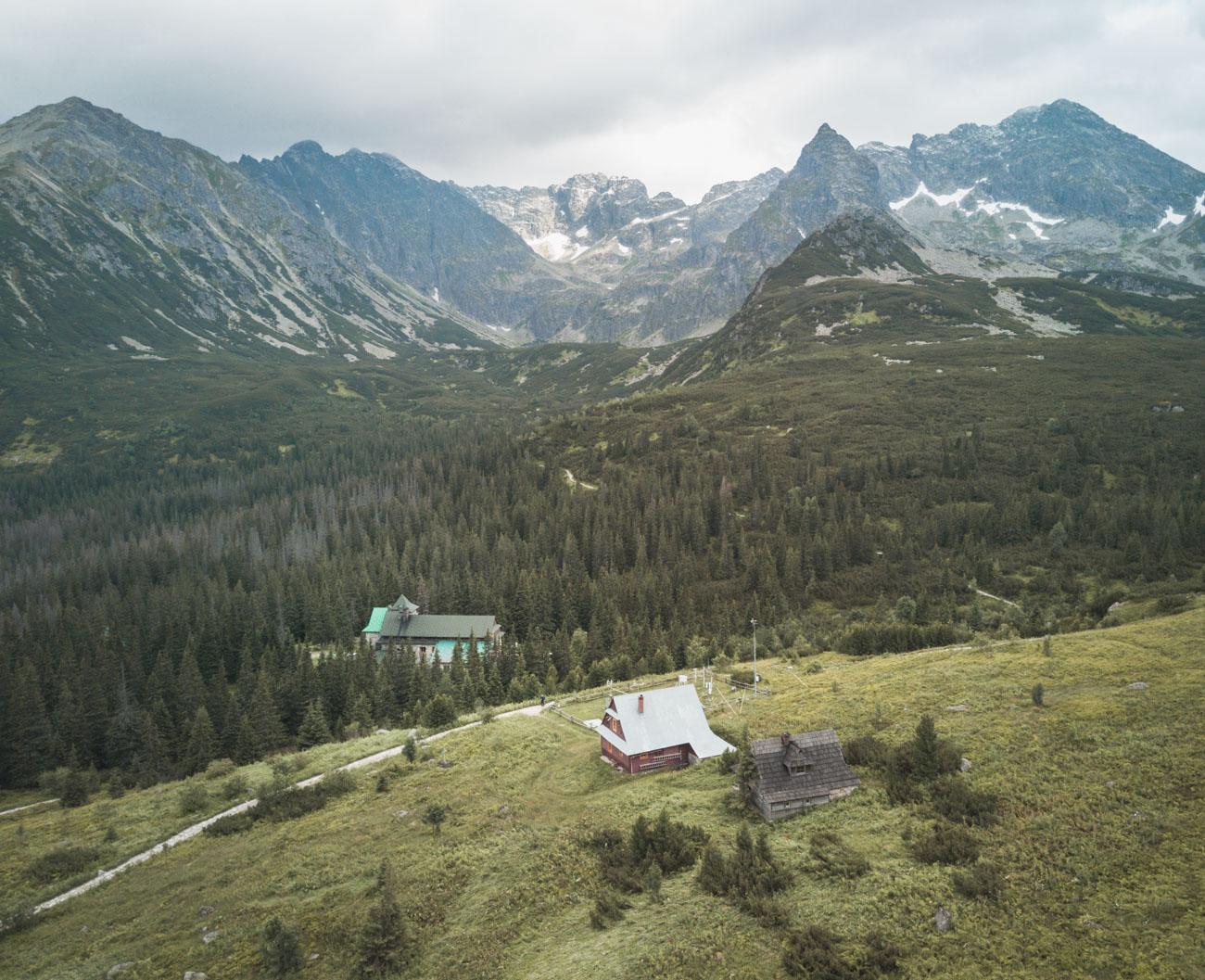 Dolina Gąsienicowa, Tatry