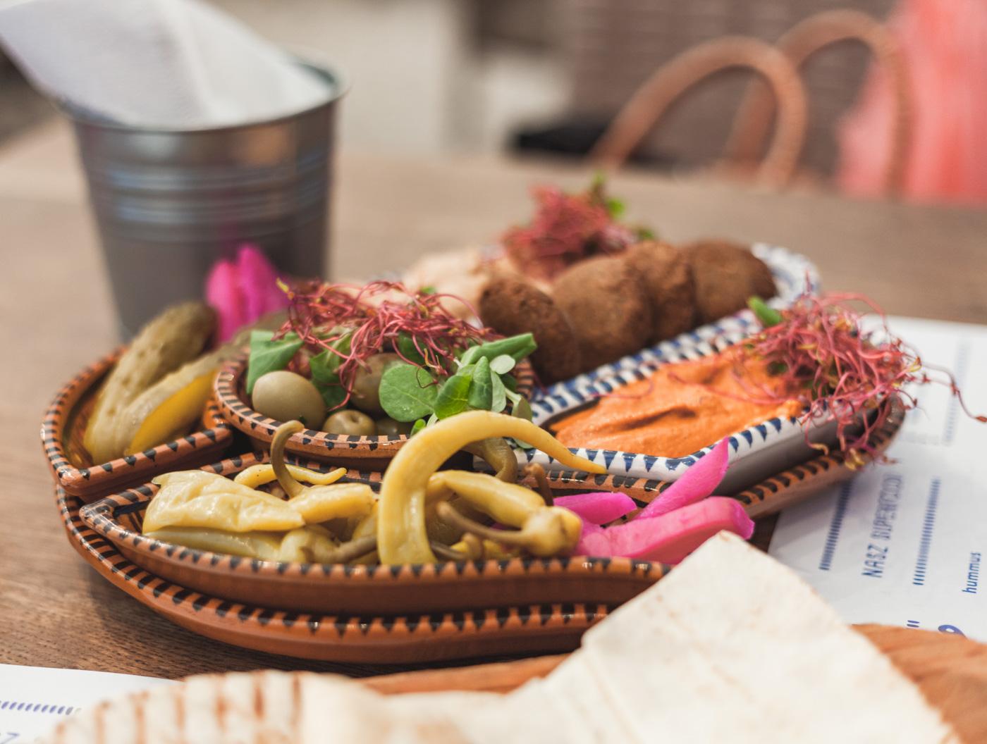 Kraków Hamsa jedzenie