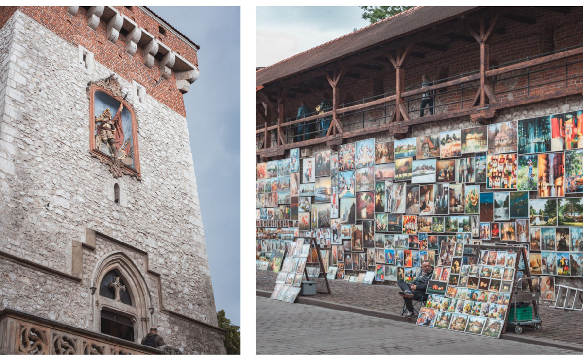 Kraków ulica floriańska
