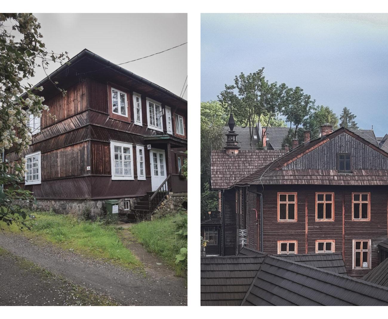 Tradycyjna architektura w Zakopanem