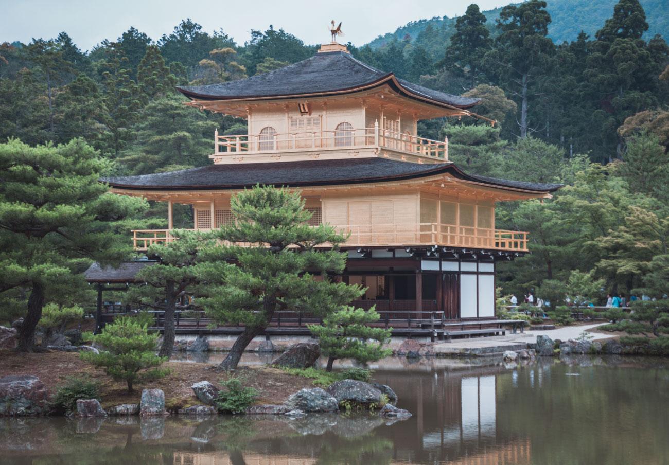 Japonia, Kioto, Złoty Pawilon
