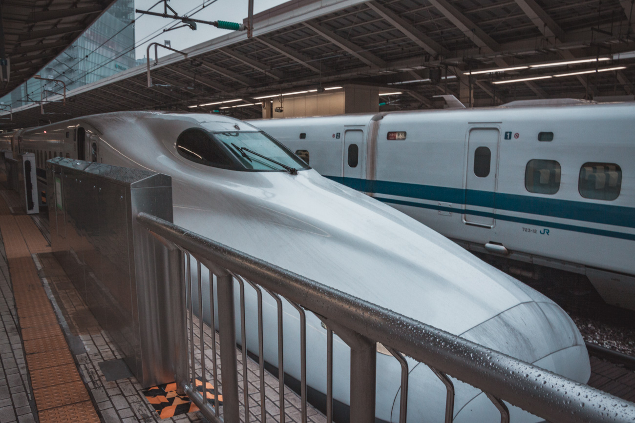 Japonia, shinkansen