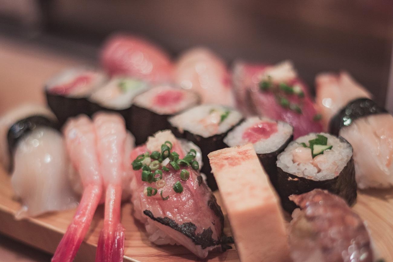 Japonia, sushi na Tsukiji