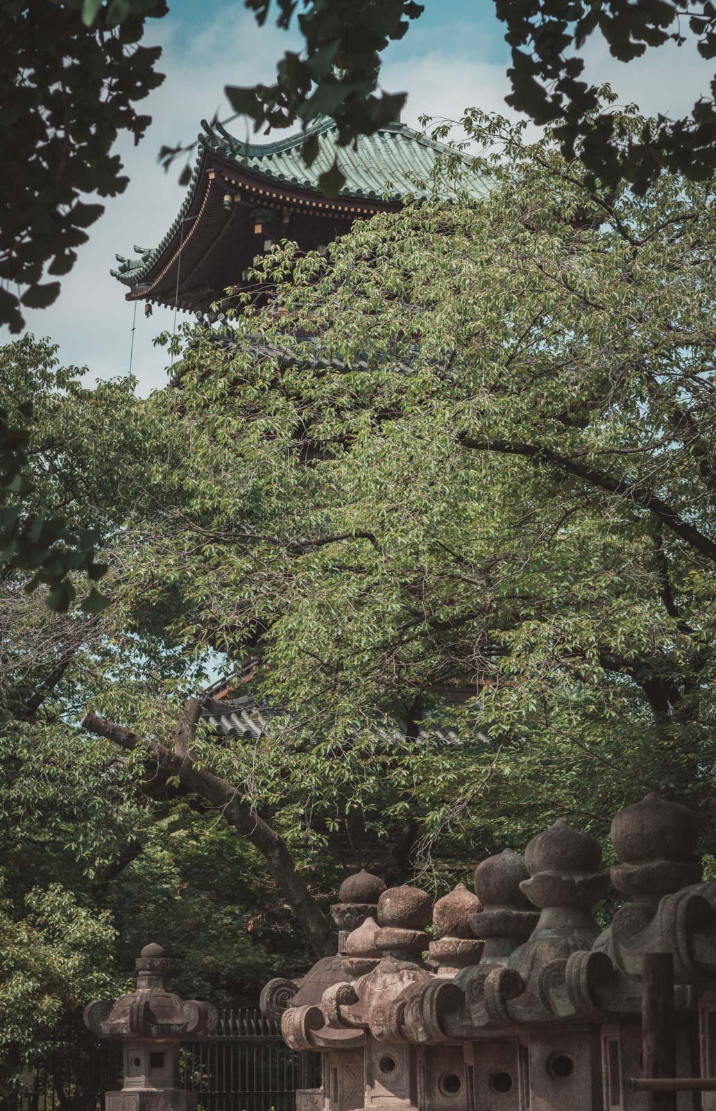 Tokio, pagoda