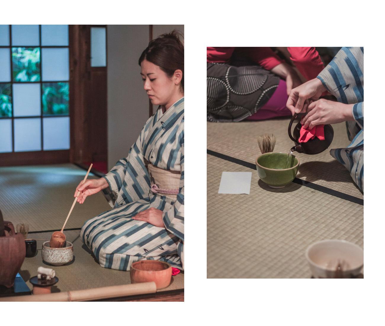 Japonia, ceremonia parzenia herbaty