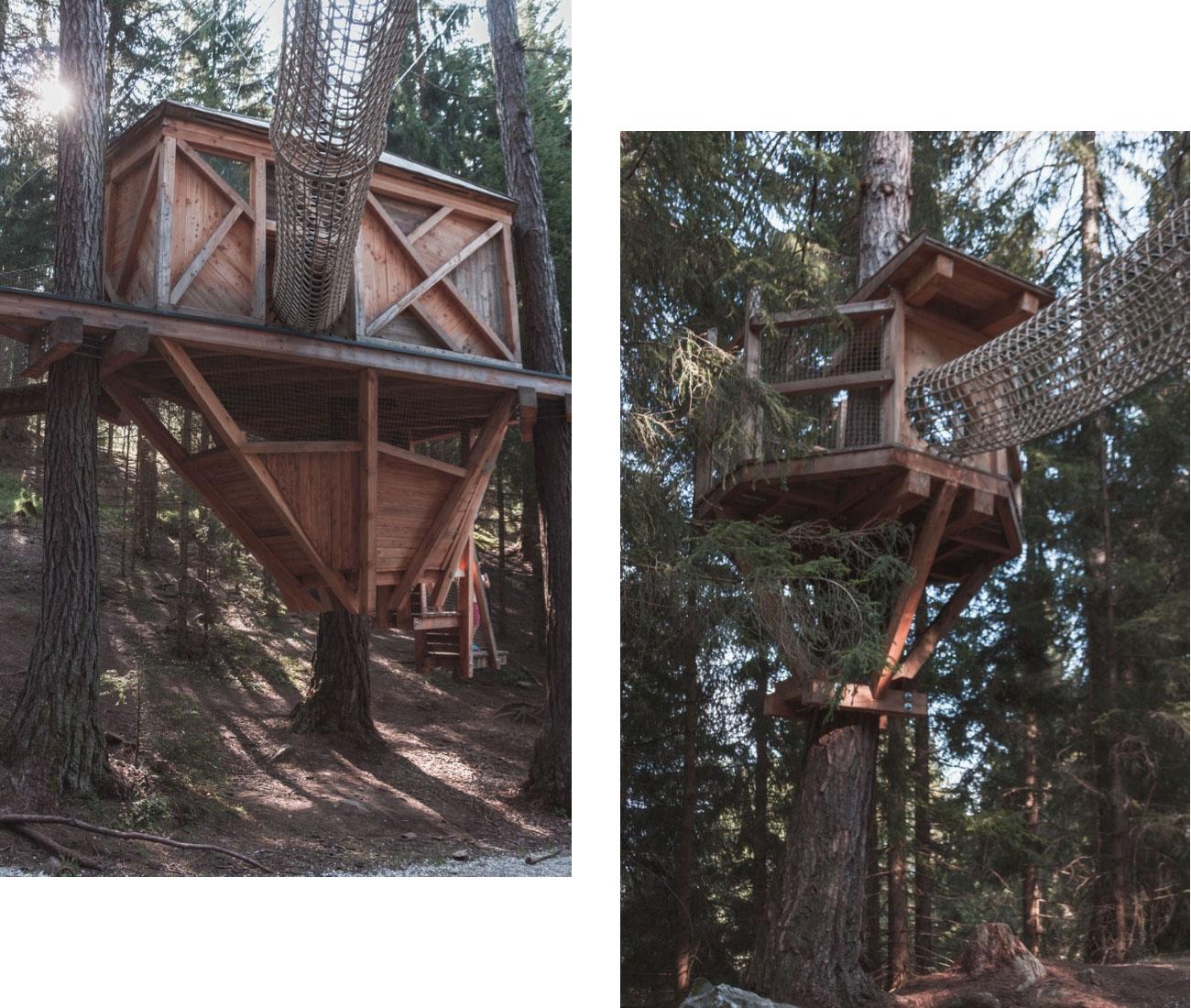 Domki na drzewie Stubai