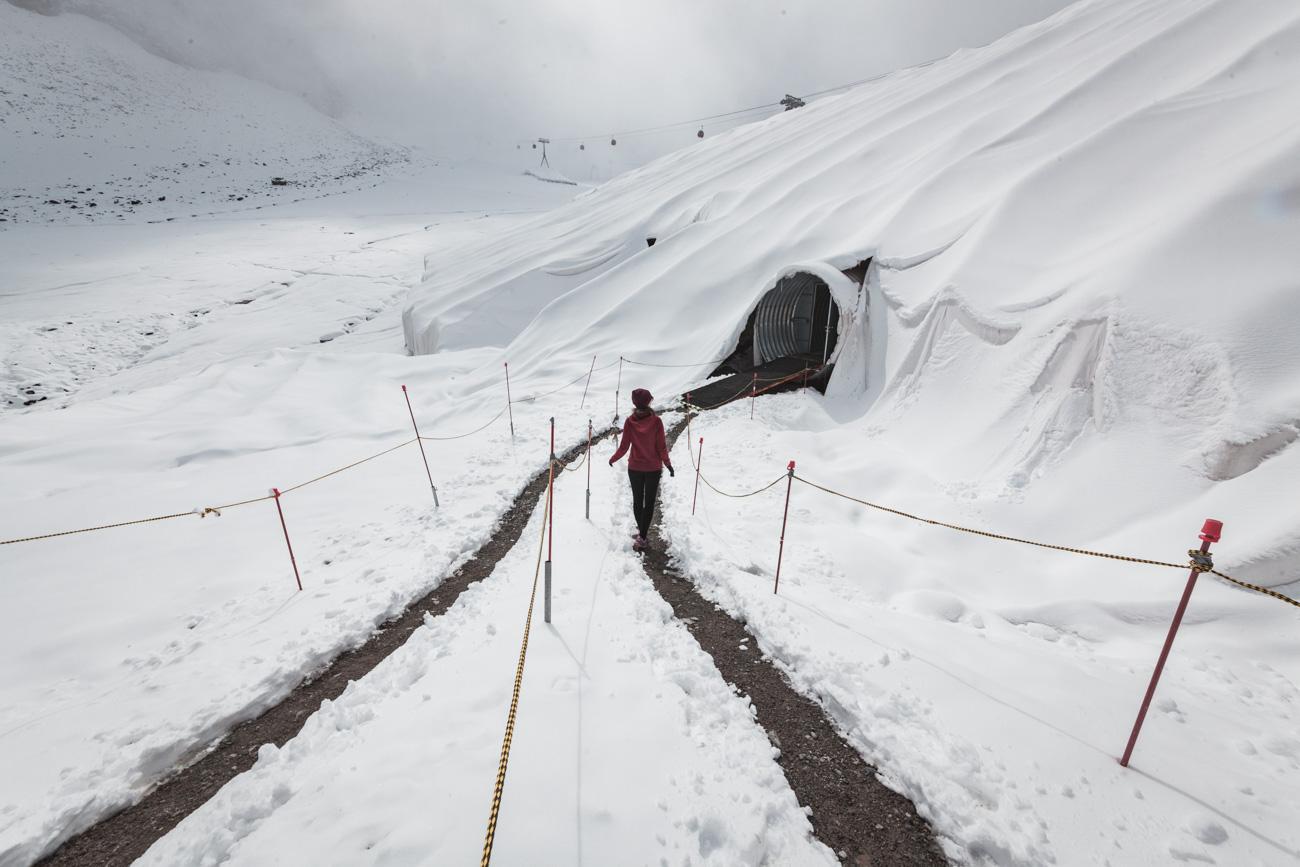 Ice grotto Stubai