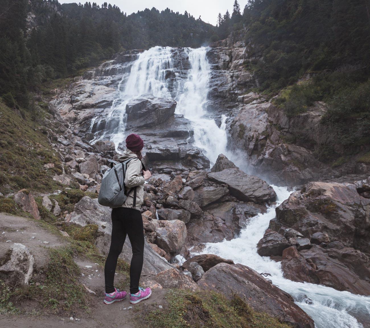 Wodospad Grawa Stubai