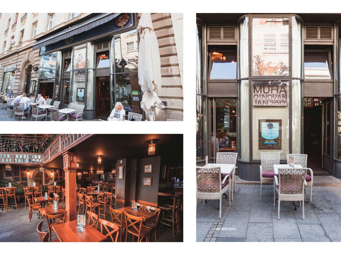 Alfons Mucha restauracja, Belgrad