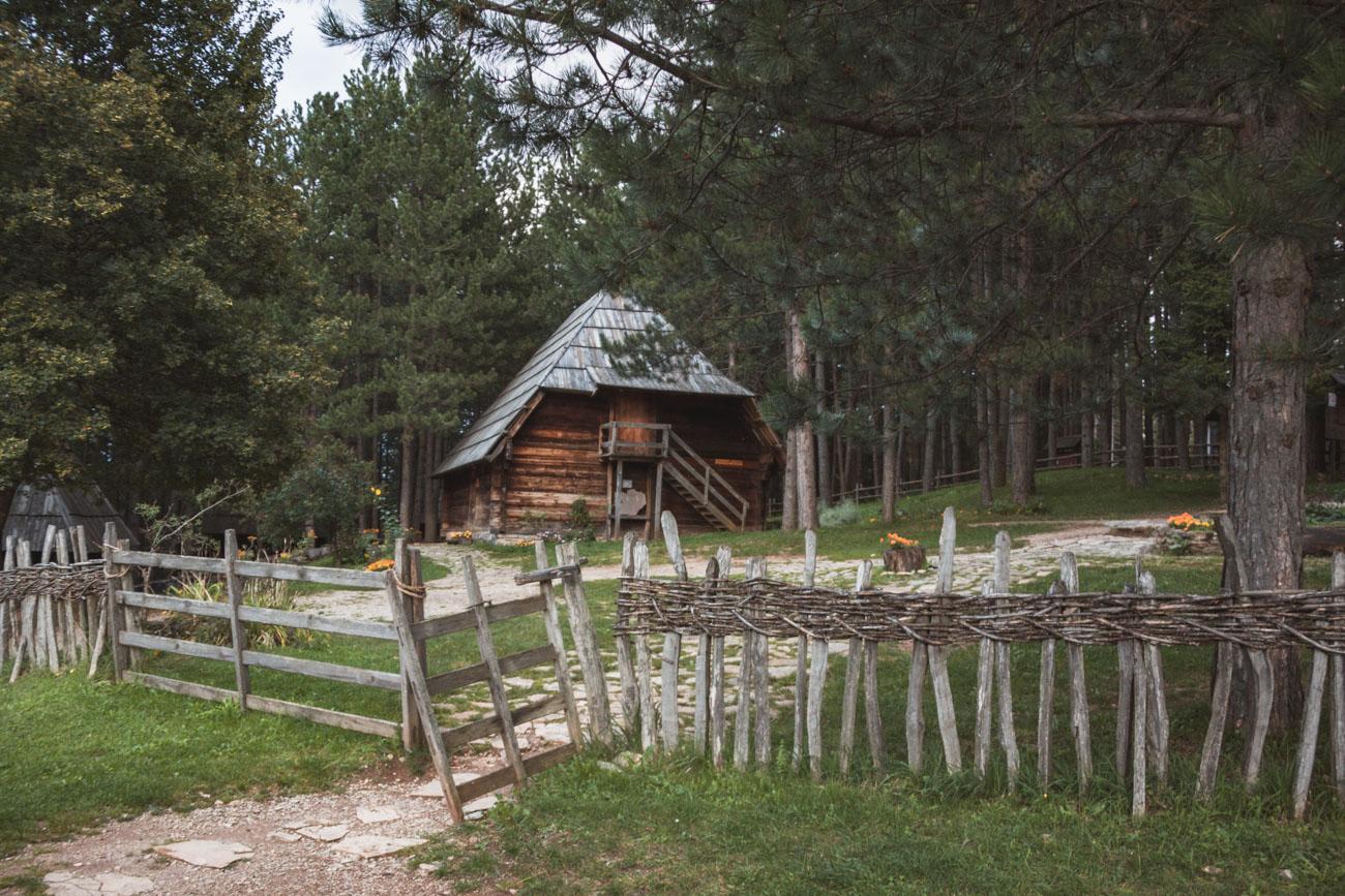 Serbia wioska Sirogojno