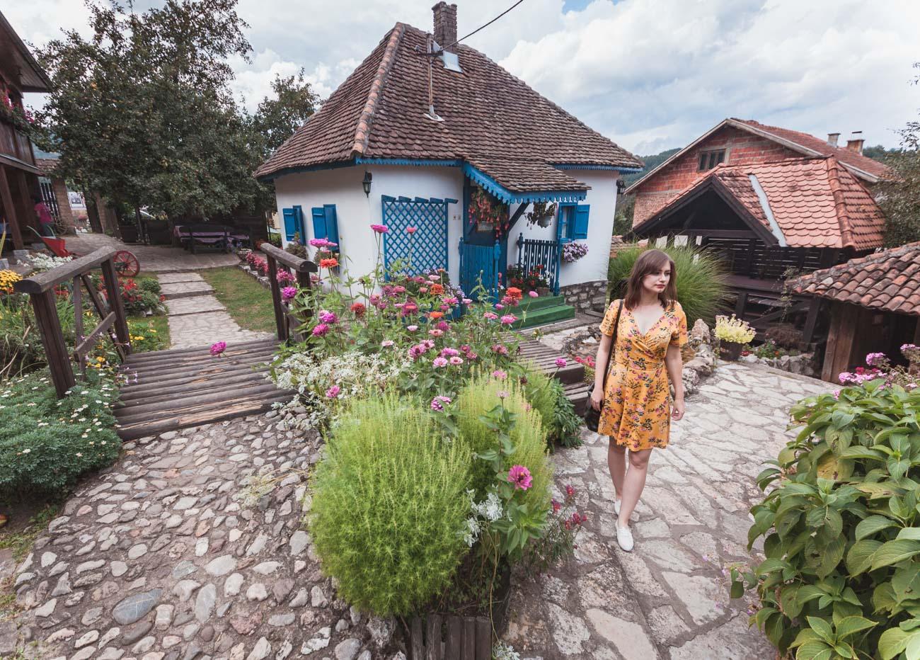 Serbia, wioska Terzića Avlij