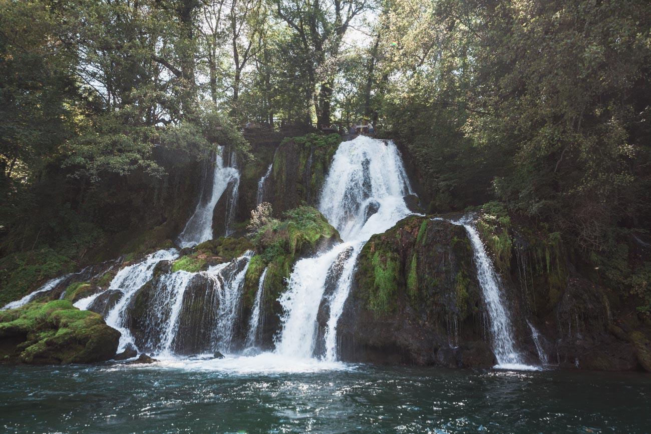 Serbia wodospad rzeka Vrelo