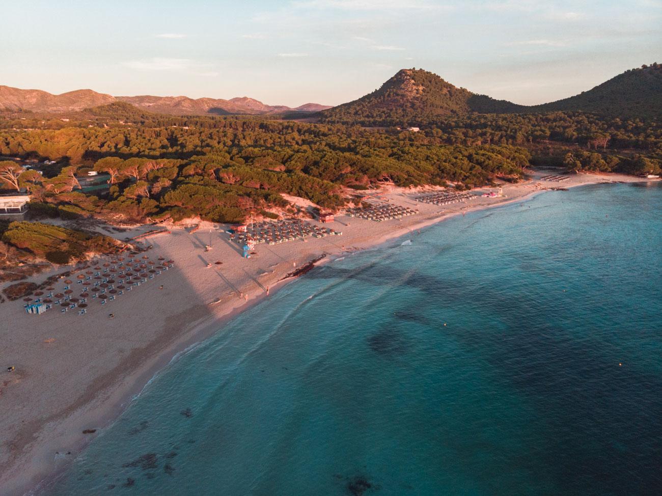 Cala Agulla Majorka plaża