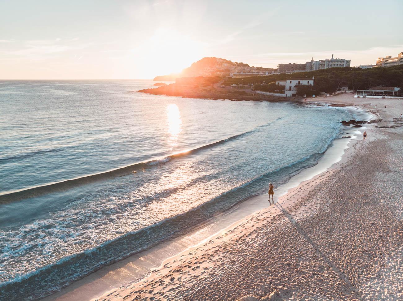 Cala Agulla plaża Majorka