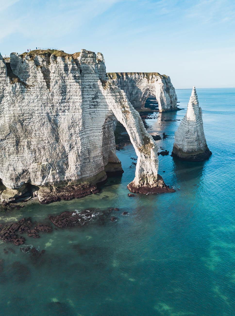 Etretat klify Normandia