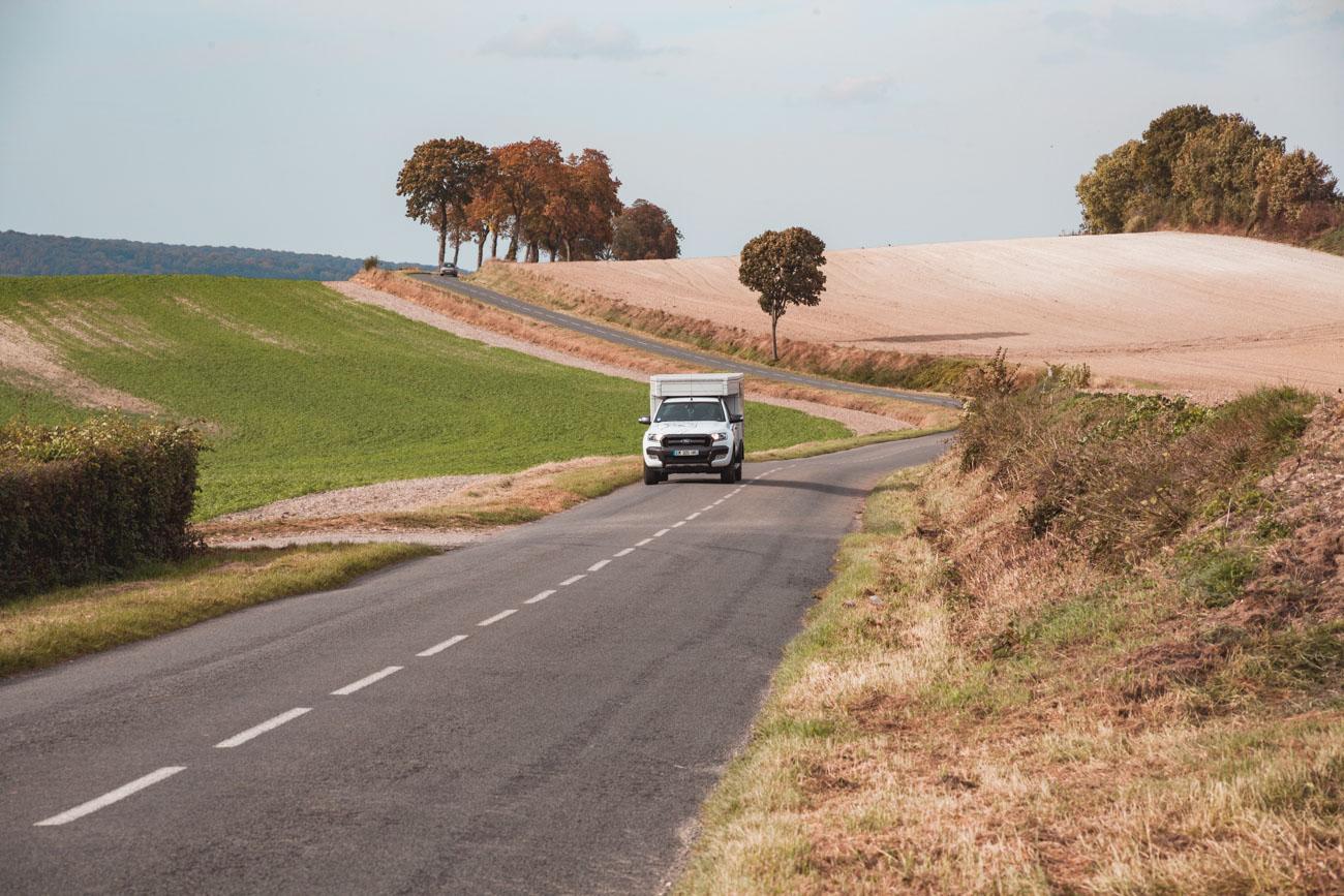 Francja-podróż samochodem po Normandii