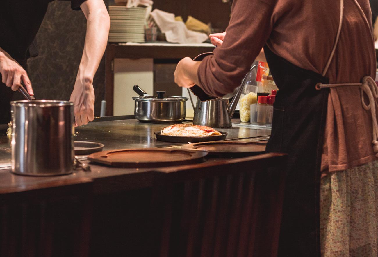 Hiroshima Japonia okonomiyaki