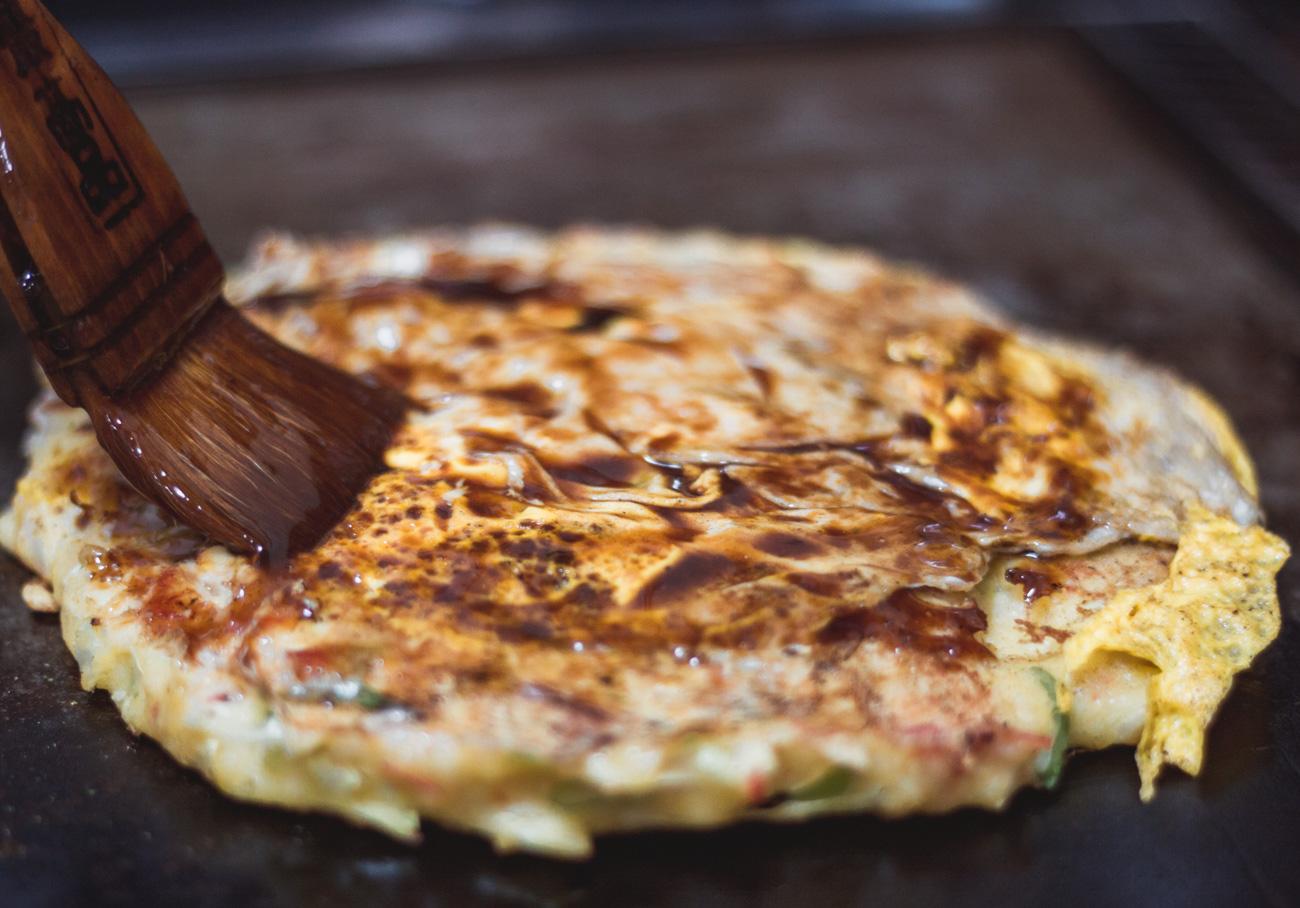 Japonia okonomiyaki kansai