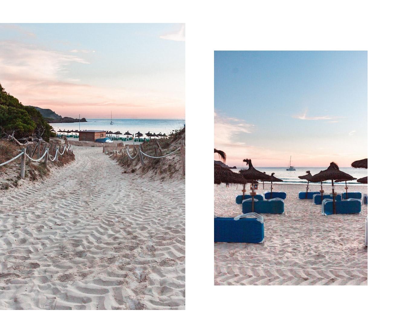 Majorka Cala Agulla plaża